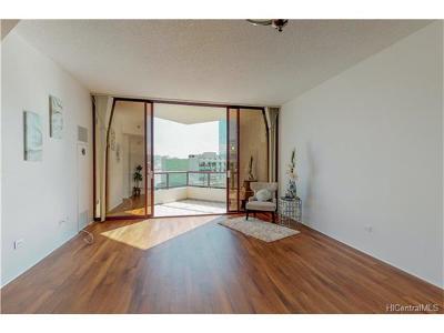 Condo/Townhouse For Sale: 725 Kapiolani Boulevard #806