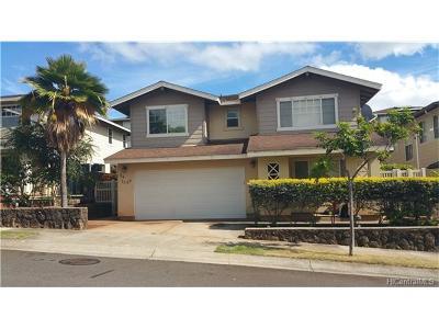 Waipahu Single Family Home For Sale: 94-1069 Hahana Street