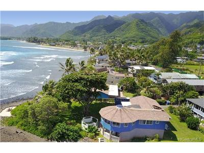 Hauula Multi Family Home For Sale: 54-245 Kamehameha Highway