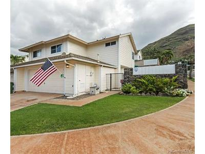 Single Family Home In Escrow Showing: 87-101 Kulapa Place