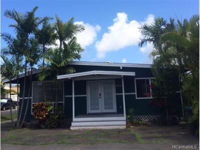 Kailua Single Family Home For Sale: 245 Hualani Street #A