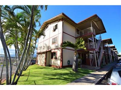 Aiea Condo/Townhouse For Sale: 98-626 Moanalua Loop #300