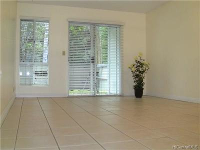 Mililani Condo/Townhouse For Sale: 95-536 Wikao Street #D105