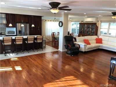 Honolulu County Single Family Home For Sale: 531 Lawelawe Street