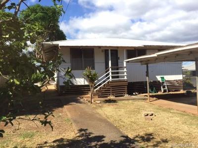 Waipahu Single Family Home For Sale: 94-1070 Awalai Street