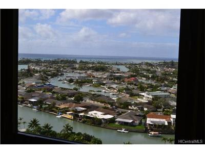 Honolulu County Condo/Townhouse For Sale: 501 Hahaione Street #1/15H