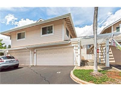 Waipahu Condo/Townhouse For Sale: 94-817 Lumiauau Street #A102