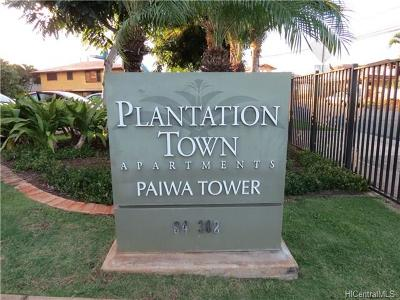 Waipahu Condo/Townhouse For Sale: 94-302 Paiwa Street #814