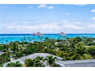 Kailua Single Family Home For Sale: 1045 Koohoo Place
