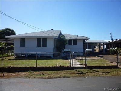 Waipahu Single Family Home For Sale: 94-540 Limahana Place