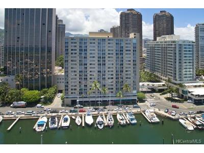 Honolulu Condo/Townhouse For Sale: 1765 Ala Moana Boulevard #1187