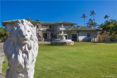 Honolulu HI Single Family Home For Sale: $5,880,000