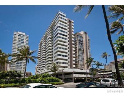 Honolulu Condo/Townhouse For Sale: 2421 Ala Wai Boulevard #703