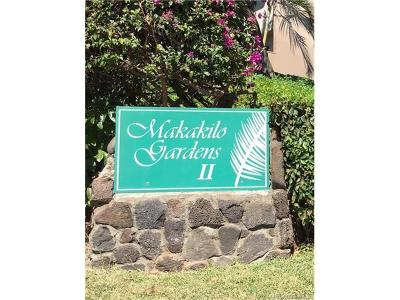 kapolei Condo/Townhouse For Sale: 92-731 Makakilo Drive #5
