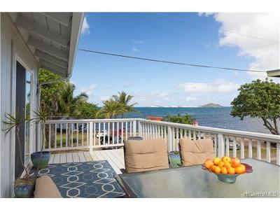 Kaneohe Single Family Home For Sale: 45-010 Waikalua Road