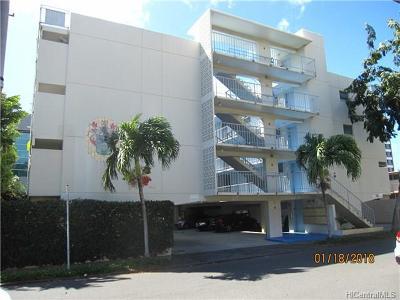 Honolulu Condo/Townhouse For Sale: 1643 Clark Street #203