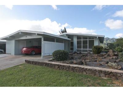Honolulu County Single Family Home For Sale: 810 Ahukini Street