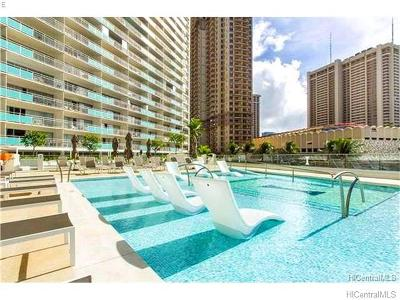 Honolulu Condo/Townhouse For Sale: 1777 Ala Moana Boulevard #1207