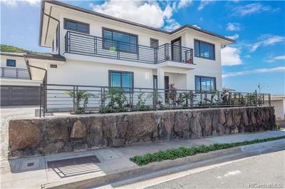 Honolulu Single Family Home For Sale: 3409 Kepuhi Street