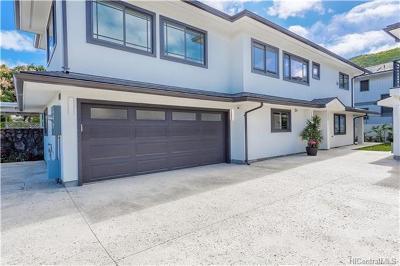 Honolulu Single Family Home For Sale: 3413 Kepuhi Street