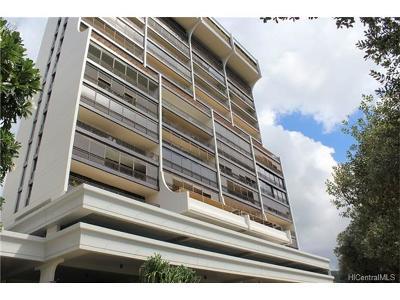 Honolulu Condo/Townhouse For Sale: 1010 Wilder Avenue #502
