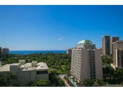Honolulu HI Condo/Townhouse For Sale: $878,000