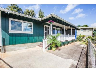 Kaneohe Single Family Home For Sale: 45-595b Keaahala Road