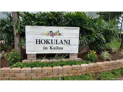 Kailua Condo/Townhouse For Sale: 355 Aoloa Street #P102