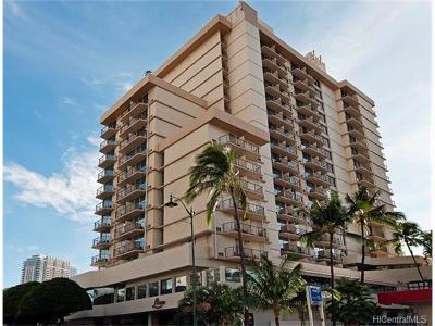 Honolulu Condo/Townhouse For Sale: 2045 Kalakaua Avenue #1404