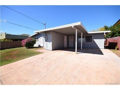 Ewa Beach Single Family Home For Sale: 91-946 Komana Street