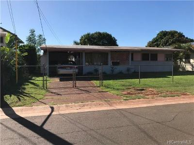 Ewa Beach Single Family Home For Sale: 91-970 Mailani Street