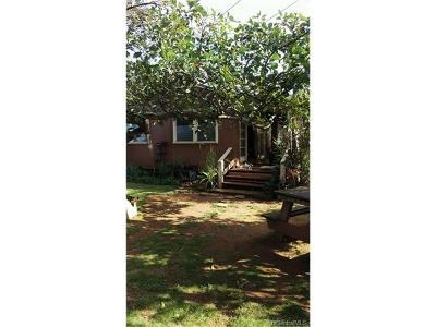 Kailua Single Family Home For Sale: 335 Olomana Street
