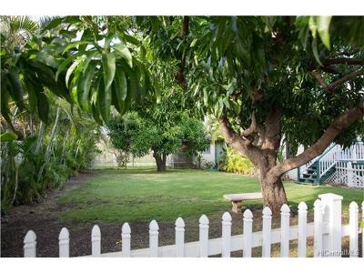 Single Family Home For Sale: 86-376 Puhawai Road