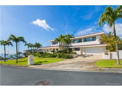 Honolulu Single Family Home For Sale: 894 Ikena Circle