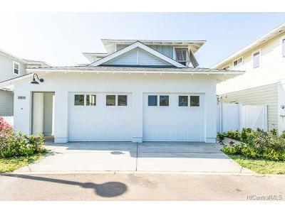 Ewa Beach Single Family Home For Sale: 91-1150 Kaikohola Street