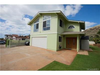 Waianae Single Family Home For Sale: 86-228 Moekolu Street