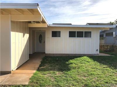 Waianae HI Single Family Home For Sale: $558,000