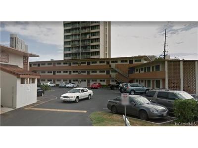 Honolulu Condo/Townhouse For Sale: 909 University Avenue #212