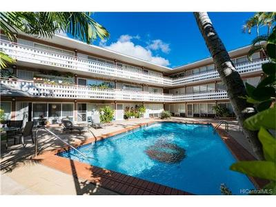 Honolulu Condo/Townhouse In Escrow Showing: 1427 Alexander Street #102