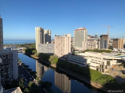 Honolulu Condo/Townhouse For Sale: 1717 Ala Wai Boulevard #2203