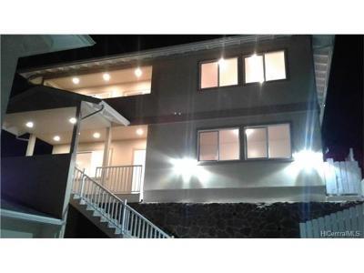 Aiea Single Family Home For Sale: 99-050a Nalopaka Place