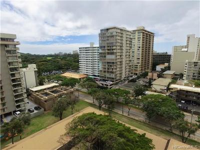 Honolulu Condo/Townhouse For Sale: 2575 Kuhio Avenue #602