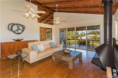 Haleiwa Single Family Home For Sale: 59-556 Akanoho Place