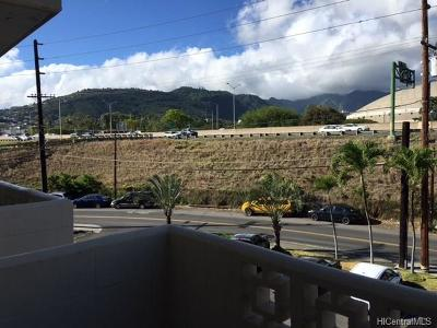 Honolulu Condo/Townhouse For Sale: 2649 Varsity Place #310