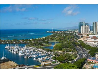 Condo/Townhouse In Escrow Showing: 1551 Ala Wai Boulevard #2601