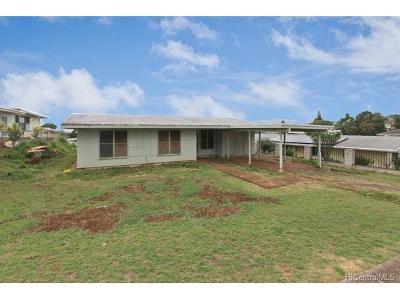 Aiea Single Family Home For Sale: 99-523 Hokea Street