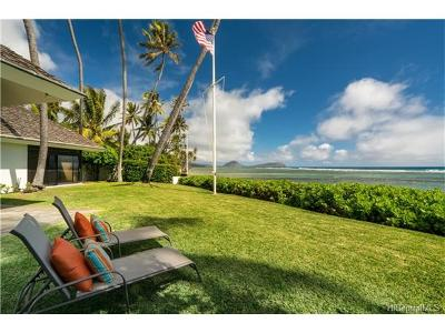 Honolulu Single Family Home In Escrow Showing: 4383 Royal Place