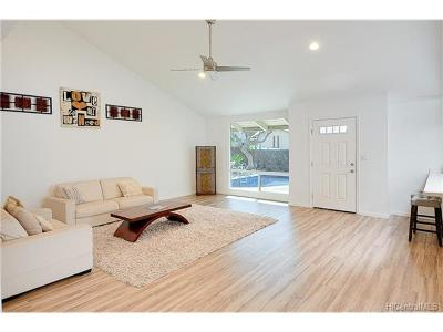Single Family Home For Sale: 1798 Palamoi Street