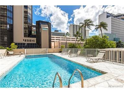Honolulu Condo/Townhouse For Sale: 364 Seaside Avenue #707