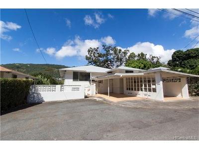 Single Family Home For Sale: 2714 Hipawai Place